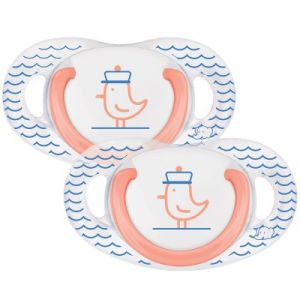 Bébé Confort 2 sucettes Natural physio latex 0-6 mois