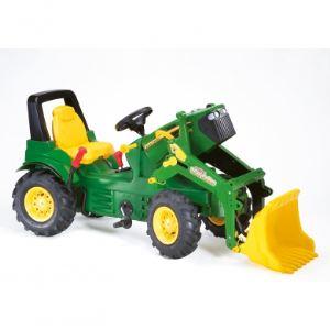 Rolly Toys Tracteur à pédales John Deere avec pelle