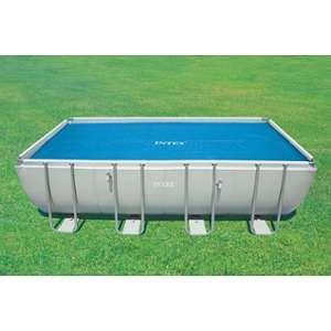 Intex Bâche à bulles pour piscine rectangulaire 4,88m x 2,44m