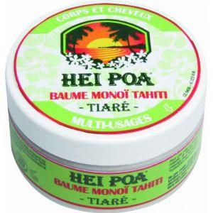 Hei Poa Baume monoï Tahiti tiaré corps et cheveux