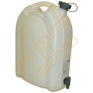 Jerrican alimentaire avec robinet encastrable 20 litres