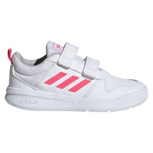 Adidas Baskets scratch Vector Blanc Rose - Taille 28;29;30;31;32;33;34;35
