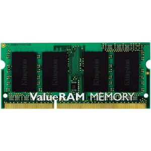 Kingston KVR13S9S6/2 - Barrette mémoire ValueRAM 2 Go DDR3 1333 MHz CL9  SoDimm 204 broches