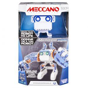 Meccano Robot jouet Tech Micronoid bleu 6031224
