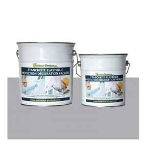 Matpro Peinture Etanche & Elastique Pour Protection Façade Gris Ciment - 20 Kg Gris ciment