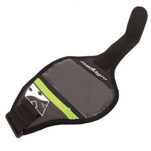 Raidlight Pièces détachées Smartphone Arm Belt - Black / Turquoise - Taille 12 x 7 cm