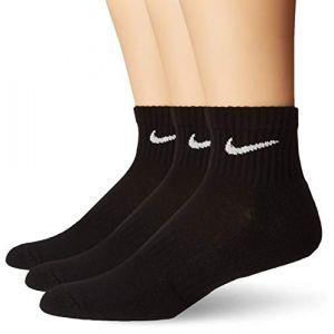 Nike Chaussettes de training Everyday Cushion Ankle (3 paires) - Noir - Taille L - Male