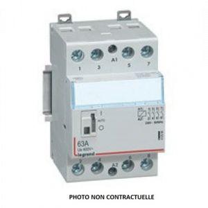 Legrand Mécanismes 412557 – CX3 – CT 230 V 4 NC 63 A Levier de commande