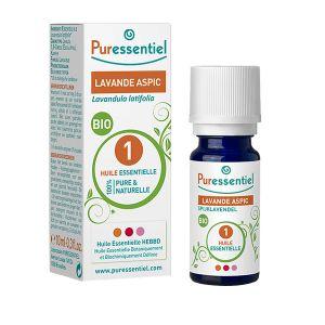 Puressentiel Huile essentielle - Lavande aspic bio, 10 ml