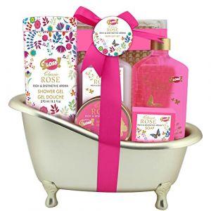 Gloss! Baignoire Bain - Coffret cadeau 6 produits de bain