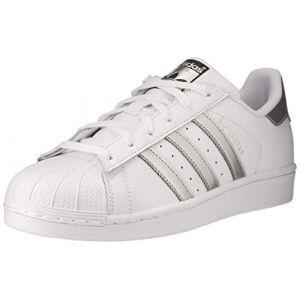 Adidas Superstar chaussures Femmes blanc argent T. 36 2/3