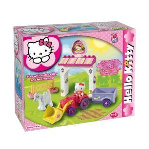Mgm Construis ta mini ferme Hello Kitty 18 pièces