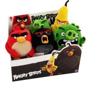 Spin Master Peluche Angry Birds 12,5 cm (modèle aléatoire)