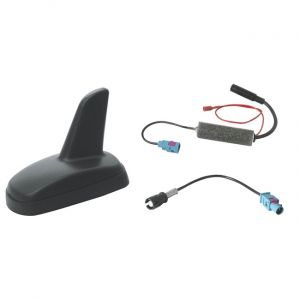 Phonocar Antenne de toit requin amplifiée 8006