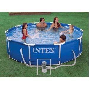 Intex 28202 - Piscine tubulaire ronde 3,05 x 0,76 m