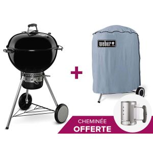 Weber Master-Touch GBS 57 cm - Barbecue à charbon + housse