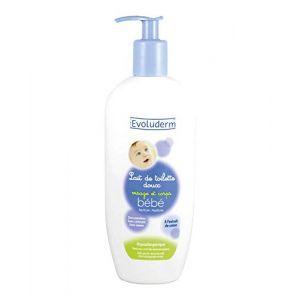 Evoluderm Lait de toilette doux visage et corps bébé