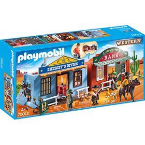 Image de Playmobil 70012 - Coffret Far-West transportable
