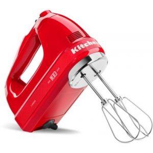 Kitchen Aid Batteur 5KHM7210HESD rouge Passion 100 ans