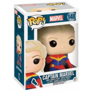 Funko Figurine Pop! Captain Marvel : Marvel