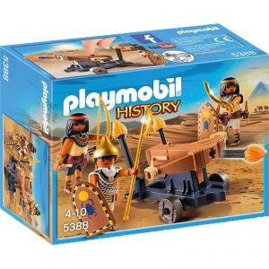 Image de Playmobil 5388 - History : Soldats du pharaon avec baliste