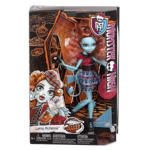 Mattel Monster High Lorna Mcnessie échange monstrueux