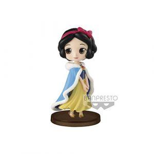 Banpresto Figurine Disney Q Posket Petit Winter Costume Snow White 7 cm