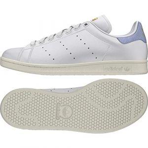 Adidas Stan Smith W Chaussures de Fitness Femme, Blanc Ftwbla/Azutiz 000, 36 EU