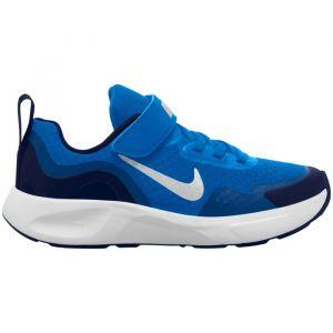 Nike Baskets - Wearallday ps - Bleu Garçon 32