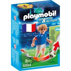 Playmobil 6894 Sports et Actions - Joueur de foot Français