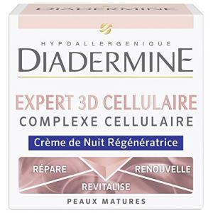 Diadermine Expert Cellulaire 3D Soin de Nuit 50 ml