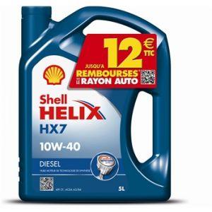 Helix Huile Moteur Shell Hx7 10w40 Diesel 5l