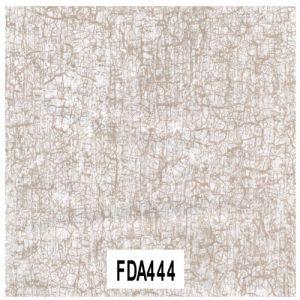 decopatch Feuille - Blanc et or craquelé - 30 x 40 cm