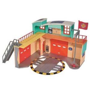 Simba Toys Grande caserne avec figurine Sam le pompier