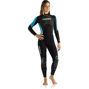 Image de Cressi Morea Lady - Combinaison Monopièce Femme pour Surf Plongée Natation - Premium Néoprène 3mm