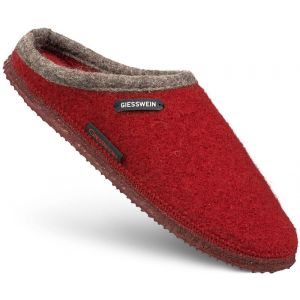 Giesswein Chaussons DANNHEIM rouge - Taille 36,37,38,39,40,41