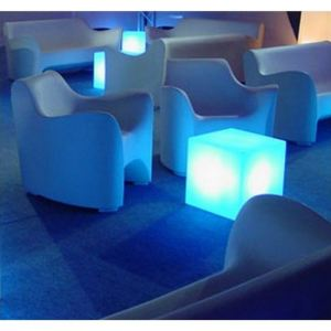 Slide Cube lumineux design 40