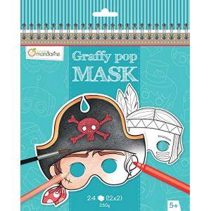 Avenue mandarine Carnet Graffy Pop Mask garçon