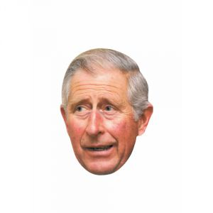 Ptit Clown Masque en carton Prince Charles