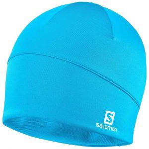 Salomon Bonnet Pour Homme pour Randonnée et Entraînements ACTIVE BEANIE, Bleu (Transcend Blue), Taille Unique, LC1138400