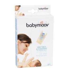 Babymoov Recharge de 100 sacs à couche