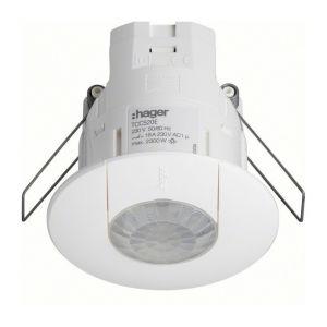 Hager Détecteur de présence 360° KNX avec relais intégré encastré plafond (TCC520E)