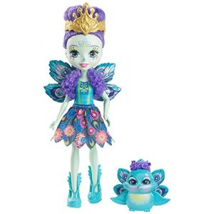 Mattel Poupée Enchantimals Patter Paon