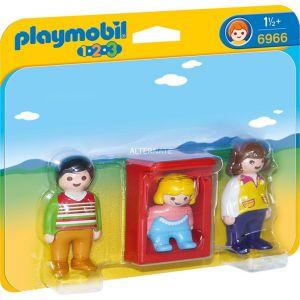 Playmobil 6966 - 1.2.3 : Parents avec bébé dans le berceau