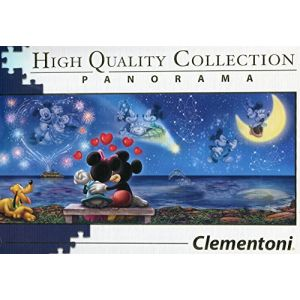 Clementoni 39449 - Disney Panorama Collection - Mickey e Minnie - 1000 pièces