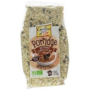Grillon d'Or Porridge à l'avoine et au chocolat bio 375 g