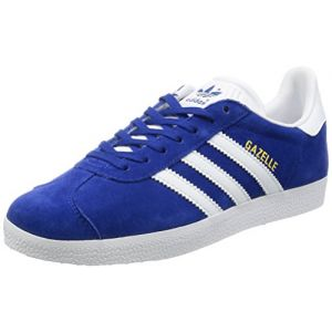 new concept 54993 861a3 Adidas Gazelle, Baskets Homme, Bleu (Collegiate Royal White Gold Metallic 0