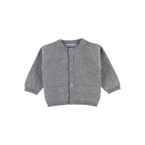 Noukie's Cardigan en tricot Fille Collection Cocon Eté - Gris - 3 mois