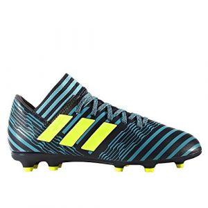 Adidas Nemeziz 17.3 FG J, Chaussures de Football Mixte Enfant - Bleu - Bleu (Tinley/Amasol/Azuene), 33.5 EU