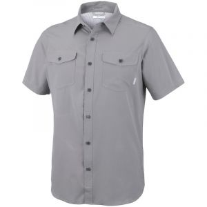 Columbia Chemises Utilizer Ii Solid S/s Shirt - Boulder - Taille L